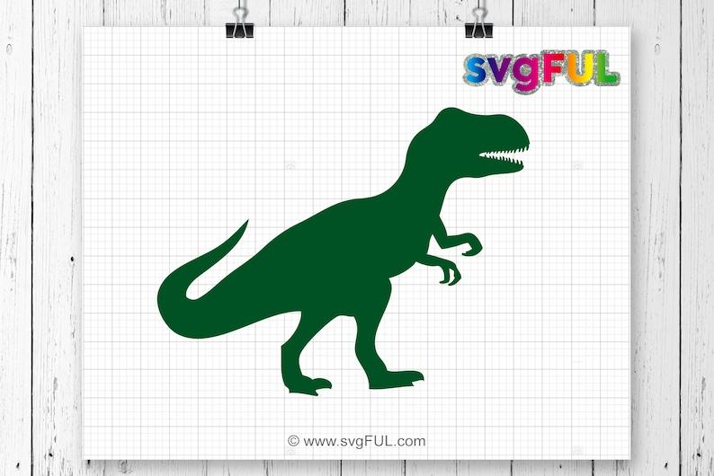SVG Dinosaur Svg T-Rex Svg Dinosaurs Clipart Svg Files image 0