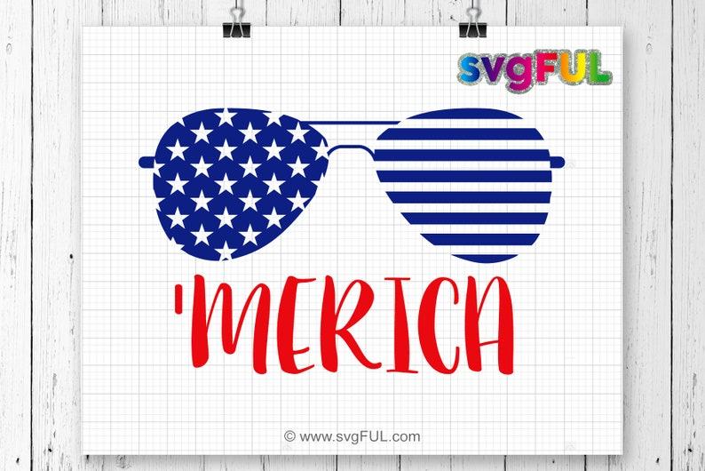 SVG  Merica Svg Fourth of July Svg 4th of July Svg image 0
