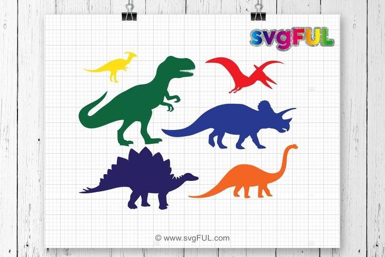 SVG Dinosaur Svg Dinosaur Svg Bundle Dinosaurs Bundle image 0