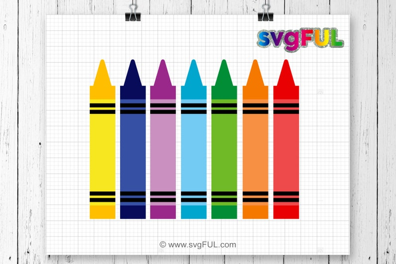 SVG Crayons Svg Crayon Svg School Svg Svg Files image 0