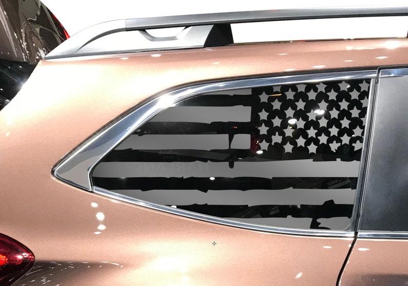 Subaru Forester USA Flag w//Pines Decals Fits 2014-2018 Windows Turbo 2.0 QB20