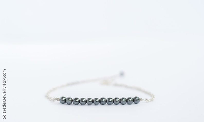 Hematite bracelet image 0