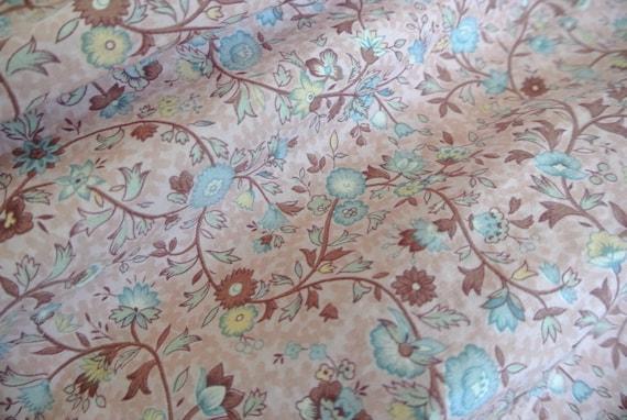 Vintage 1980s Ralph Lauren cotton floral flared s… - image 5