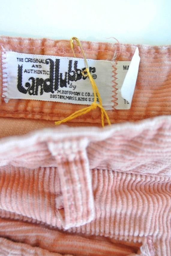 Vintage 1970s landlubber flared leg bellbottoms a… - image 3