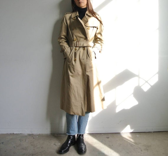 Vintage 1990s Burberry's  trench coat small