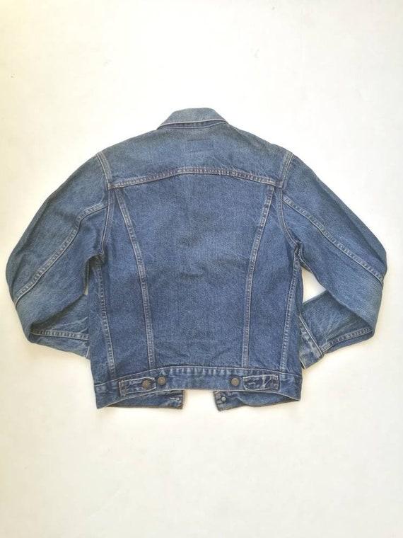 Vintage Levi's 70506 denim trucker jacket made in USA