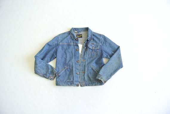 Vintage 1970s Wrangler denim jacket