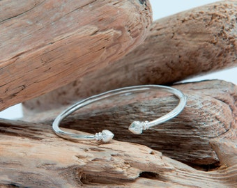 Sterling Silver Bangle, Silver Torque, Torc Bracelet, Everyday Bracelet, Delicate Bracelet, Delicate Bangle, Gift For Her, Womens Gift, 925