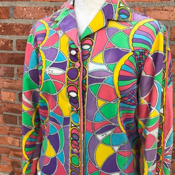 1960s Emilio Pucci Mod Jacket. Size Medium Pucci J