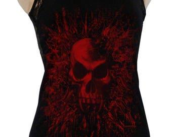 d0422638680e5 Blood vamp Lady tank top Backfree