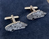 Star Wars Millennium Falcon Metal Cuff Links