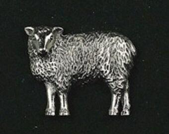LAPEL PIN BADGE EWE LAMB FARM ANIMAL FARMING AGRICULTURE   LK-59 SHEEP