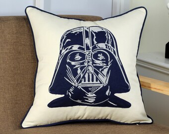 Star Wars Darth Vader Appliqued Pillow Cover
