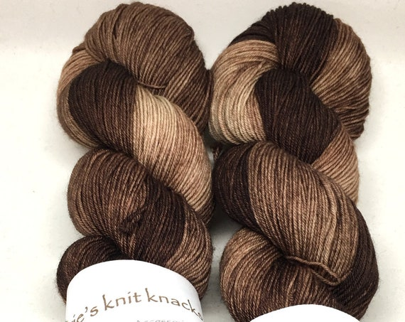 Hand Dyed Superwash Merino Blend Sock Yarn_Driftwood