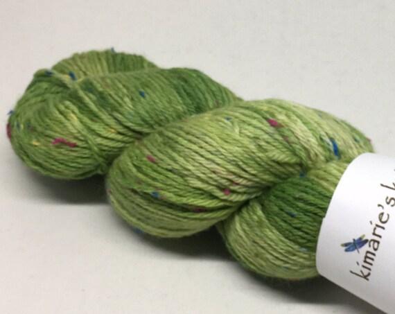 Hand Dyed Superwash Merino Tweed DK Yarn_Demelza