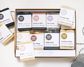 Soap Sampler Box - 16 mini soap bars