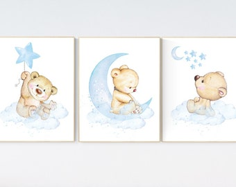 Teddy Bear Wall Art Etsy