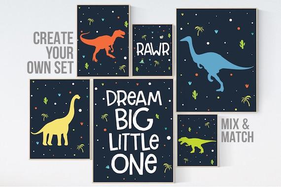 dinosaur nursery decor, boys room decor dinosaur, Nursery decor boy dinosaur, kids room decor dinosaur, dinosaur room decor, dinosaur prints