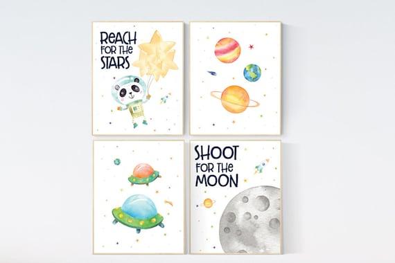 Nursery decor boys space, Space nursery decor, Space Boy Nursery Art Prints, Nursery decor boy space, space wall art nursery,