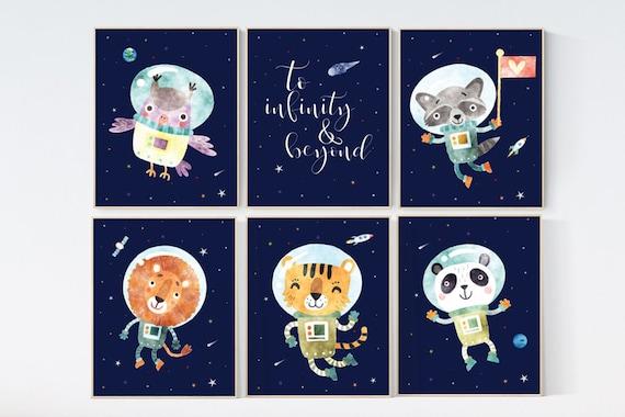Nursery decor boy space, nursery prints Space, Space themed nursery, outer space nursery, space nursery art, to infinity and beyond