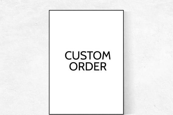 Custom Listing: 1 print in 11x14