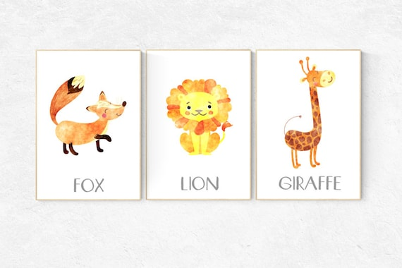 Nursery decor girl woodland, nursery decor boy woodland, nursery decor woodland, animal nursery prints woodland nursery nursery decor safari