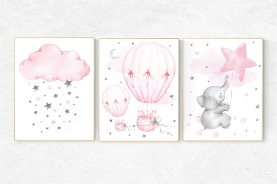 GIRL WALL ART - Lotus Nursery Prints