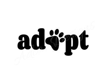 ADOPT Permanent Decal
