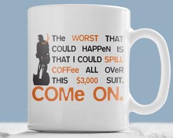 """Arrested Development GOB """"Suit"""" mug. COME ON!"""