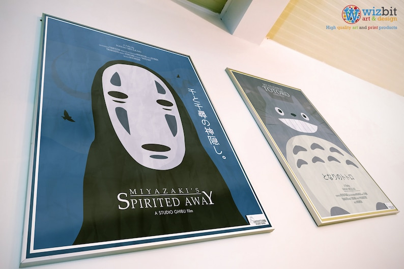 Spirited Away Poster/Print/Wall Art  Studio Ghibli image 1