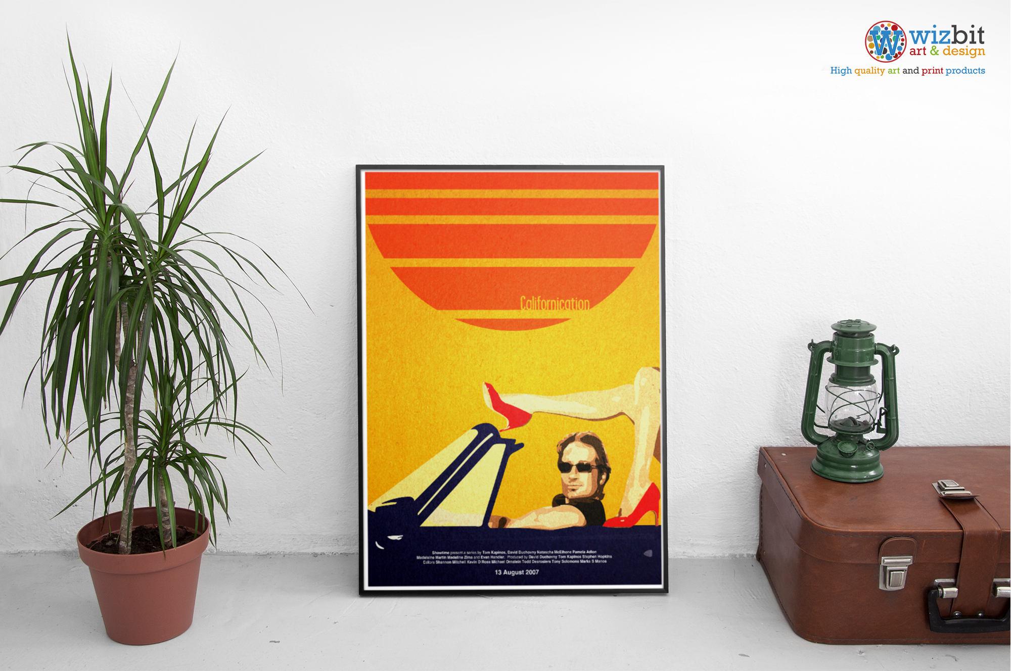 Californication Poster WallArt / Print / Art TV Show