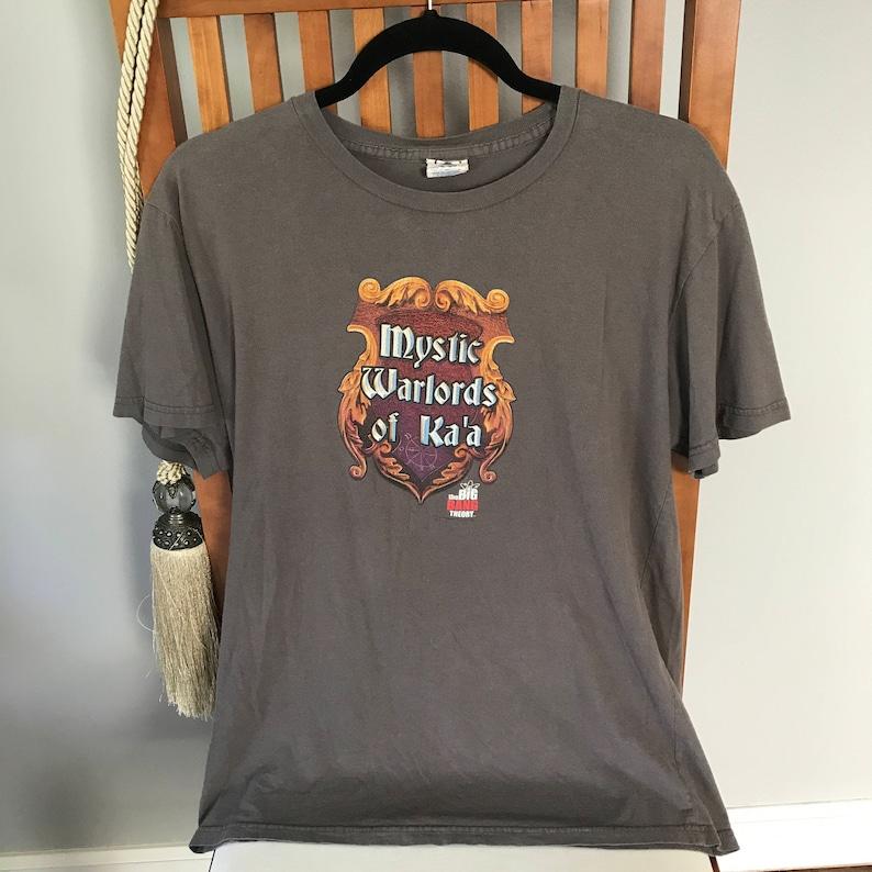 d78ea008026fc5 Big Bang Theory Upcycled T-shirt Mystic Kriegsherren Ka a