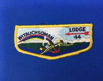 Boy Scout OA Order of the Arrow 1986 NOAC Pocket Patch