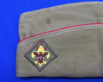 Boy Scout 1950's Garrison Hat Size Small Official Vintage  Preowned
