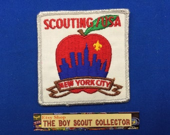 Boy Scout New York City Big Apple Scouting/USA Patch