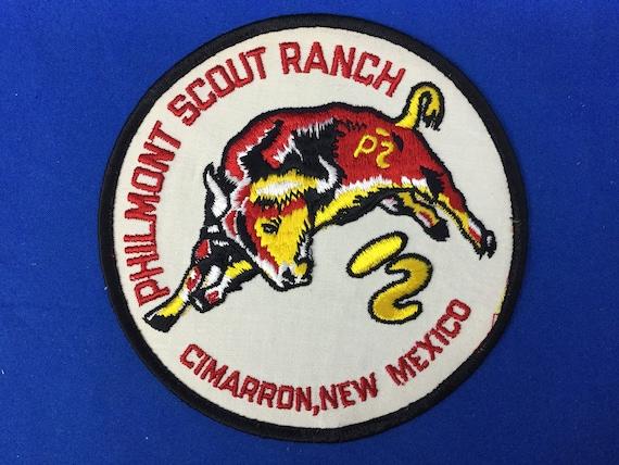 Boy Scout Philmont Jacket Patch Cimarron, New Mexi