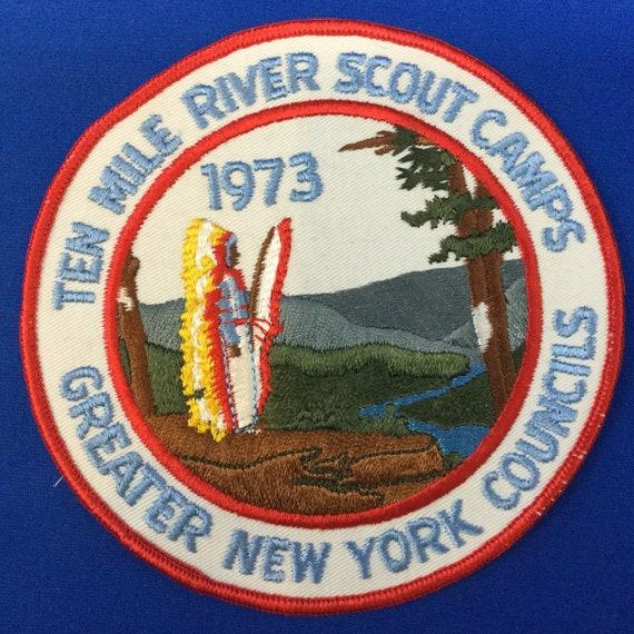 Boy Scout Ten Mile River Scout Camps 1973 Jacket P