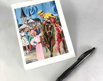 Derby 2018 Greeting Card