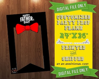 Father's Day Party Prop Frame