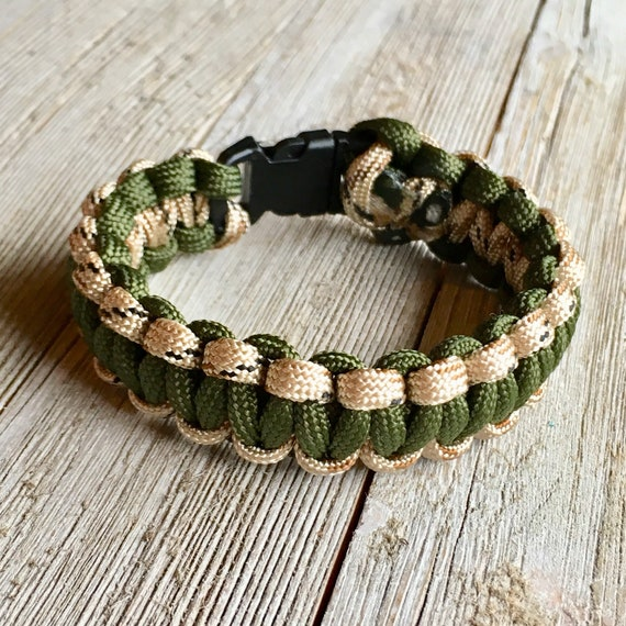 """1 1//2/"""" Hardwood Green and Hardwood Camouflage Suspenders Clip On"""