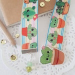 Cactus Bookmark - Planners - Bibles - Bookworm - School - Notebooks - Book Readers Club - Cactus Lover