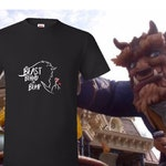 New Dad, Expecting Father, Pregnancy Announcement, Beast Behind the Bump, Beauty and the Beast, Tee for Dad to be