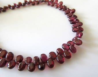 "Nouveau 10X14mm larme en forme de rose Gems loose beads 15 /""Strand AAA"