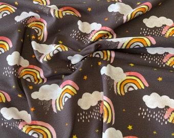 "Shirt fabric ""Autumn clauds"""