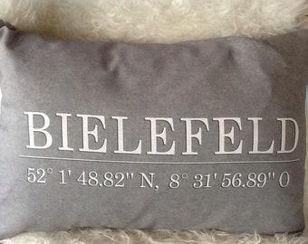 "Pillow ""Bielefeld"""
