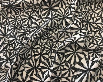 "Viscose fabric ""Geometric"""
