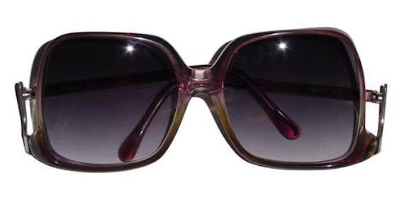 Vintage Norell NR 2 Sunglasses Light Purple Frame