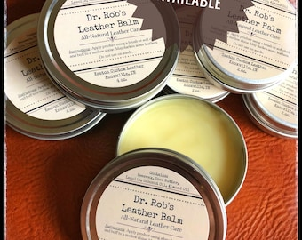 Dr. Rob's All-Natural Leather Balm