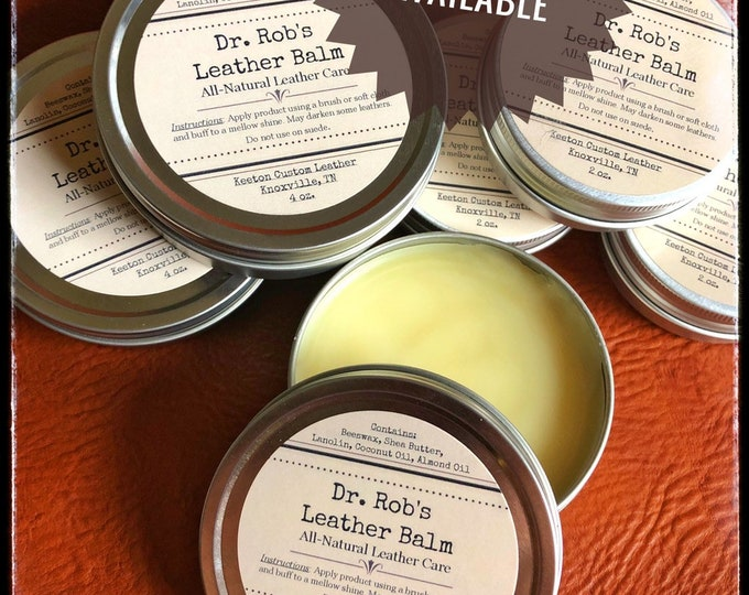 Featured listing image: Dr. Rob's All-Natural Leather Balm