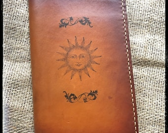 Handcrafted Leather Journal Cover - Made in the USA